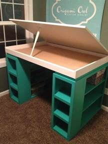 craft desk diy craft desk procraftinating