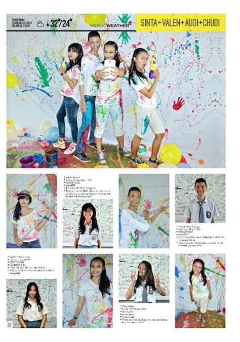 layout majalah unik konsep fotografi yearsbook sekali seumur hidup juni 2016