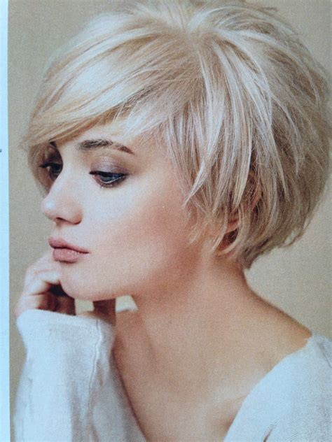 how cut womens hair short shag layered bob pinteres