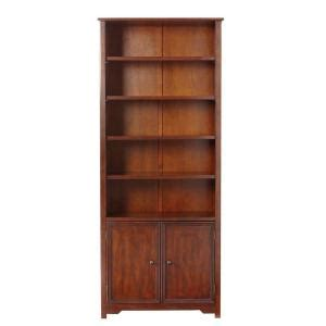 home decorators collection oxford chestnut storage open