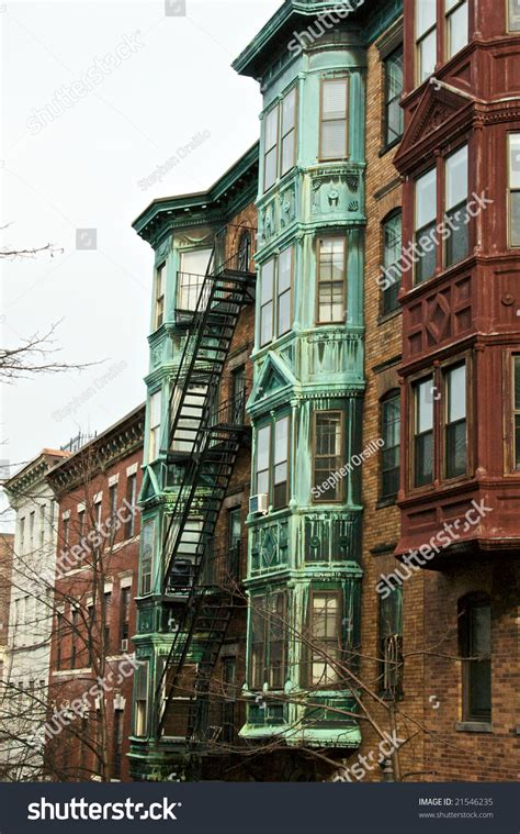 Appartment In Boston by Boston Brownstone Apartment Buildings Beacon Hill Stock