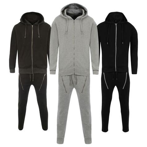Jogger Bintang All Size Fit To L 1 New Mens Zip Slim Fit Jog Suit Fleece