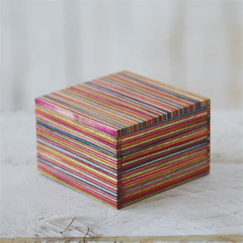 Handmade Trinket Box - dhari fair trade handmade trinket box by paper high