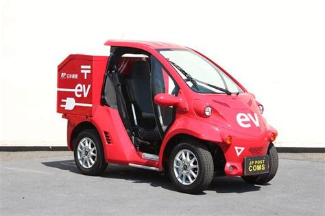 toyota coms single seat electric mail delivery vehicles from toyota