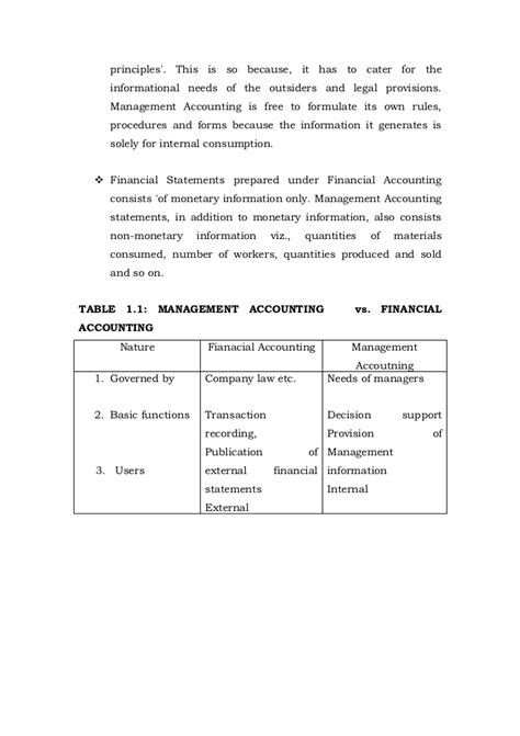 Financial And Management Accounting Notes For Mba by Financial And Management Accounting Notes Mba Bk
