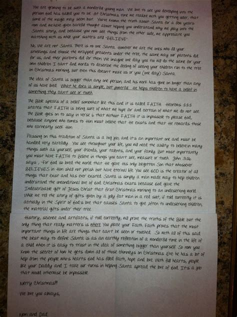 Parent Letter To Child About Santa 17 Best Ideas About Talk To Santa On Crafts Crafts For