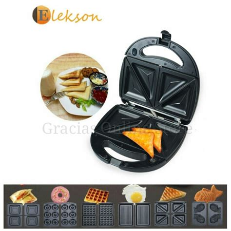 Sandwich Toaster And Waffle Maker 6 in 1 waffle maker sandwich maker toaster for bread and donut