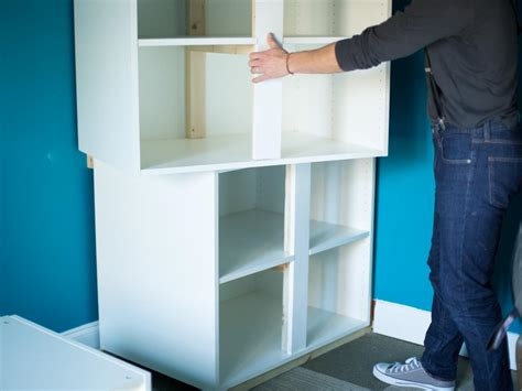 ready to install cabinets how to make bunk beds and bedroom storage with ready made cabinets hgtv