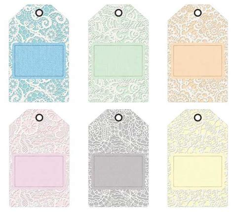 Gift Letter Bdo Printable Gift Tags Journaling Cards With Lace Backgrounds
