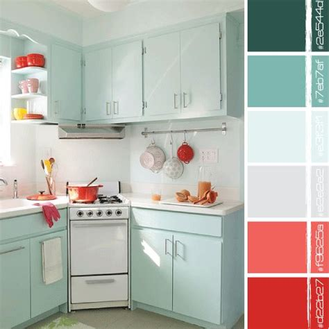 small kitchen color combinations turquoise turquoise and on