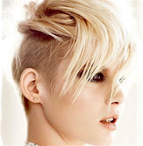 semi short womens haircuts 2013 semi shaved hairstyles for women