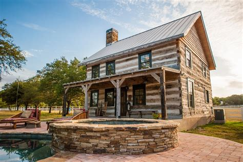 Awesome Texas Hill Country Home Plans #9: Restored-Historic-Cabin-Guest-House-3.jpg