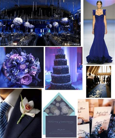 wedding colour themes navy bride ca wedding colors 2011 trends navy blue