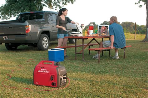 using a portable generator for emergency electricity