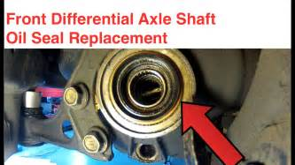 Nissan Titan Front Differential Fluid Front Differential Axle Shaft Seal Replacement