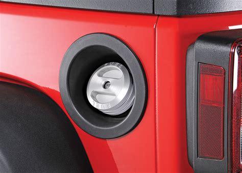 Jeep Wrangler Gas Cap Road Billet Aluminum Locking Fuel Cap For 01 16