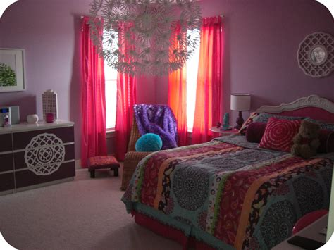 bohemian inspired bedroom bright bohemian tween room resource list laurie jones home