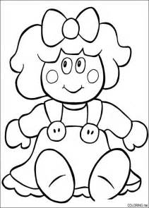 coloring doll free coloring pages of dolls