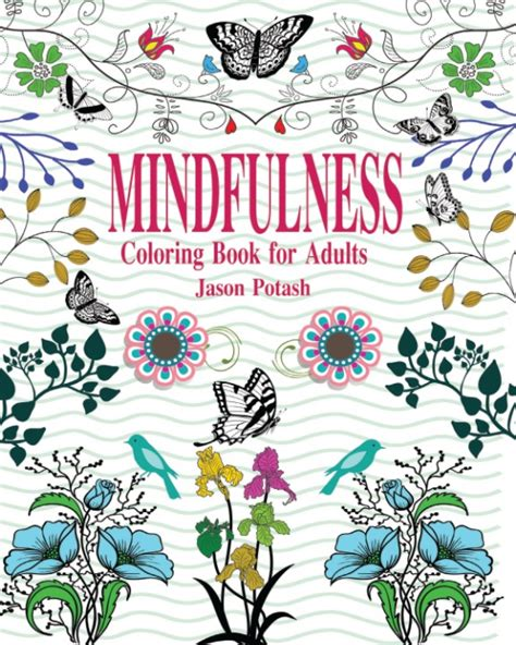 coloring books for adults australia mindfulness coloring book for adults by jason potash