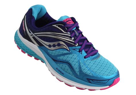 womens wide athletic shoes saucony ride 9 womens premium cushioned wide width