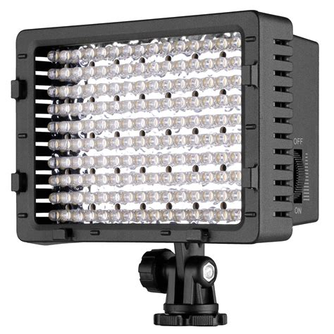 Led Lights Cn 160 neewer cn 160 dimmable led vedio light for canon nikon camcorde ebay
