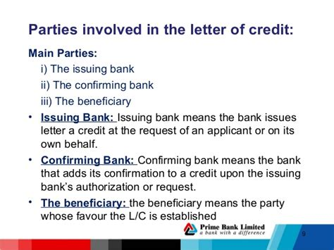 Letter Of Credit Nominated Bank lc procedure hrtdc 1