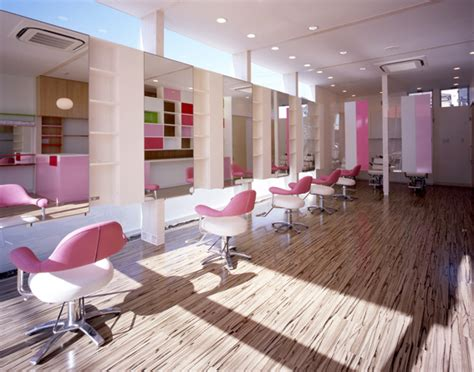 Salon Interiors by Salon Interior Design Arp Salon Kawaguchi