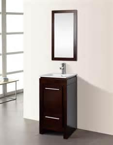 dowell 18 quot single sink bathroom vanity cabinet mirror
