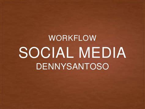 media workflow my social media workflow