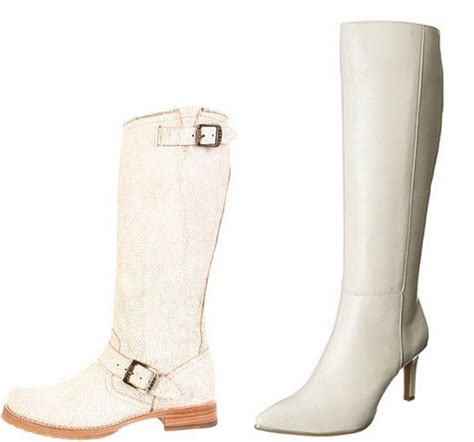 white leather boots for choozone