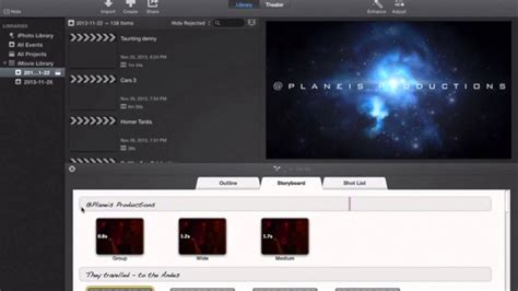 tutorial about imovie imovie 2013 tutorial how to make a studio style opening