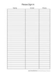 nursery sign in sheet template church nursery templates pictures to pin on