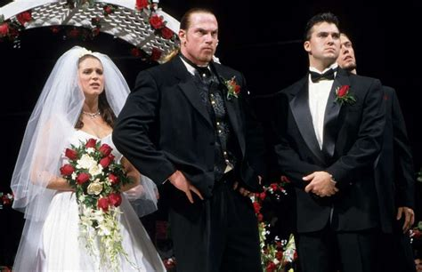 trish stratus wedding vince russo reveals the original plan for test and