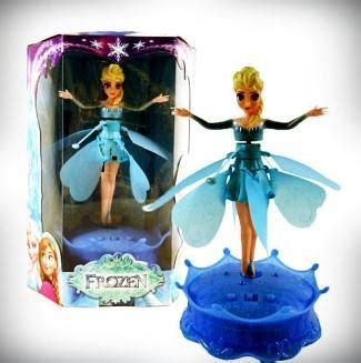 0960660001 Mainan Anak Playpad Frozen flying elsa with light and toko mainan anak