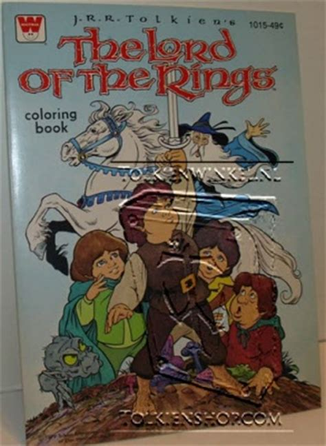 lord of the rings coloring book quizboekjes e d