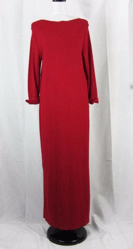 Umbrella Dress Maxi Jersey Fit To L talbots maxi jersey knit dress size large l ebay