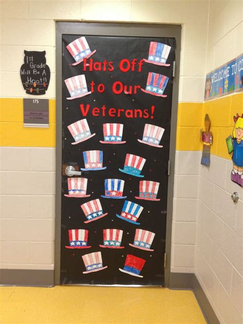 Veterans Day Decoration Ideas by Veterans Day Door Idea Kindergarten November