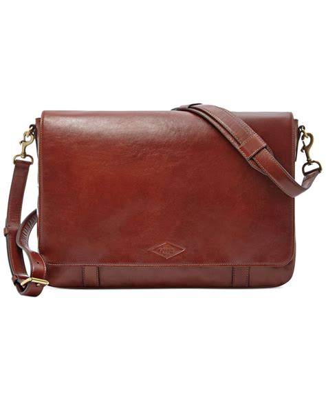 Charles Worthington Style Website And Lacoste Messenger Bag The News From Shiny Media by Fossil Aiden Leather Messenger Bag In Brown For Lyst