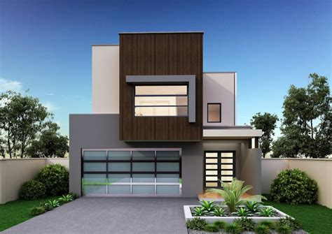 Garage Apartment Plans Narrow Home Designs Sydney The Best Narrow Block Home Builders