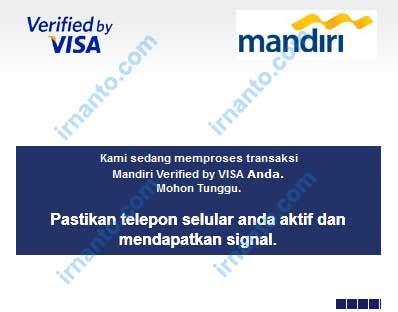 membuat visa gratis gagal transaksi online menggunakan kartu debit mandiri