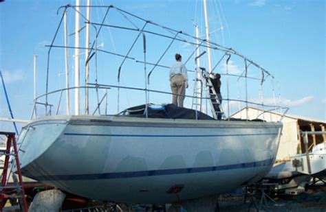 living on your boat in the winter covers are key to winter protection