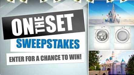 Abc Sweepstakes - win a trip to walt disney world or abc set visit