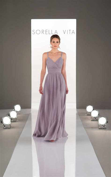 dream bridesmaid dress  ruched bodice sorella vita