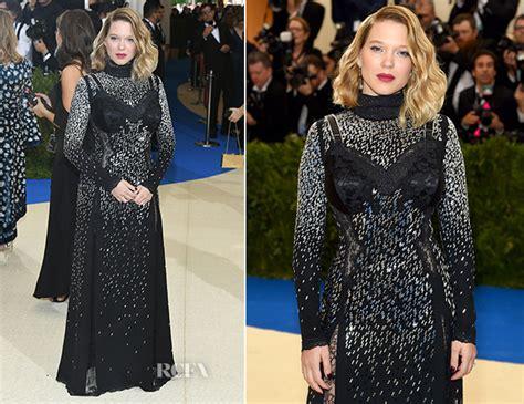 lea seydoux red carpet fashion awards l 233 a seydoux in louis vuitton 2017 met gala red carpet