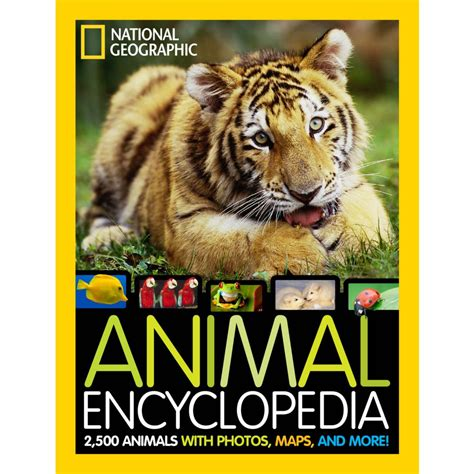 animal picture books national geographic animal encyclopedia national