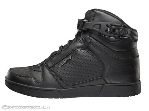motorcycle street shoes shift kicker street shoe review motorcycle usa
