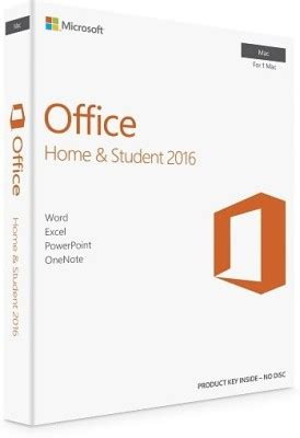 Office 2016 Home And Student Original buy microsoft office home and student 2016 mac no