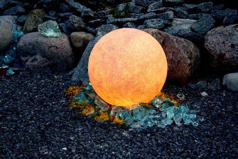 leuchtkugel garten 50 cm leuchtkugel mundan terracotta 50 cm
