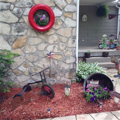 Tire Flower Garden Tire Flower Garden Boisholz Model 71 Chsbahrain