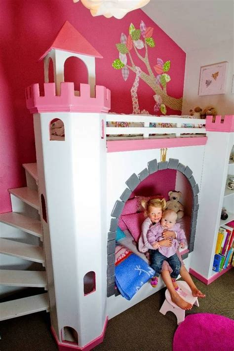 diy princess bed princess bed homemade home princess bedrooms pinterest